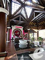 Lobby / Bhundhari Spa Resort and Villas Samui, หาดเชิงมนต์