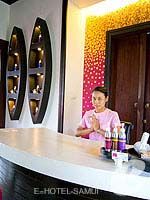 Spa Reception / Bhundhari Spa Resort and Villas Samui, หาดเชิงมนต์