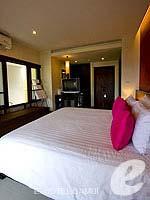 サムイ島 チョンモーンビーチのホテル : ブンダリ スパ リゾート & ヴィラ サムイ(Bhundhari Spa Resort and Villas Samui)のデラックスルームの設備 Bedroom
