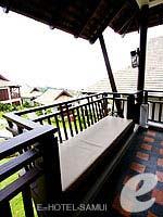 サムイ島 チョンモーンビーチのホテル : ブンダリ スパ リゾート & ヴィラ サムイ(Bhundhari Spa Resort and Villas Samui)のデラックスルームの設備 Balcony