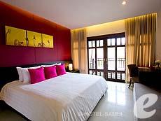 サムイ島 チョンモーンビーチのホテル : ブンダリ スパ リゾート & ヴィラ サムイ(1)のお部屋「デラックス」