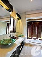 サムイ島 10,000~20,000円のホテル : ブンダリ スパ リゾート & ヴィラ サムイ(Bhundhari Spa Resort and Villas Samui)のデラックスプールヴィラルームの設備 Bath Room