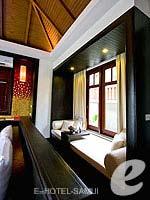サムイ島 10,000~20,000円のホテル : ブンダリ スパ リゾート & ヴィラ サムイ(Bhundhari Spa Resort and Villas Samui)のデラックス オーシャン ビュー プール ヴィラルームの設備 Balcony