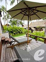 サムイ島 10,000~20,000円のホテル : ブンダリ スパ リゾート & ヴィラ サムイ(Bhundhari Spa Resort and Villas Samui)のデラックス オーシャン ビュー プール ヴィラルームの設備 Terrace
