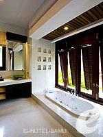 サムイ島 10,000~20,000円のホテル : ブンダリ スパ リゾート & ヴィラ サムイ(Bhundhari Spa Resort and Villas Samui)のデラックス オーシャン ビュー プール ヴィラルームの設備 Bath Room