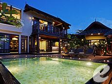 サムイ島 10,000~20,000円のホテル : ブンダリ スパ リゾート & ヴィラ サムイ(1)のお部屋「ロイヤルプールヴィラ」
