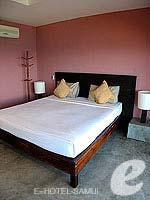 サムイ島 オーシャンビューのホテル : ブルー ヒル リゾート(Blue Hill Resort)のシービュー デラックスルームの設備 Bedroom