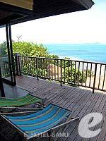 サムイ島 オーシャンビューのホテル : ブルー ヒル リゾート(Blue Hill Resort)のシービュー ヴィラルームの設備 Balcony