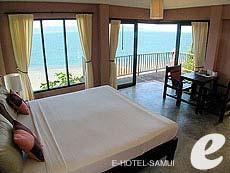 サムイ島 オーシャンビューのホテル : ブルー ヒル リゾート(1)のお部屋「シービュー ヴィラ」
