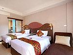 プーケット スパ併設のホテル : ブルー オーシャン リゾート & スパ(Blue Ocean Resort)のスーペリアルームの設備 Room View