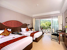 プーケット スパ併設のホテル : ブルー オーシャン リゾート & スパ(1)のお部屋「スーペリア」
