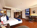 プーケット スパ併設のホテル : ブルー オーシャン リゾート & スパ(Blue Ocean Resort)のデラックスルームの設備 Room View