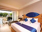 プーケット スパ併設のホテル : ブルー オーシャン リゾート & スパ(Blue Ocean Resort)のグランド デラックスルームの設備 Room View