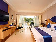 プーケット スパ併設のホテル : ブルー オーシャン リゾート & スパ(1)のお部屋「グランド デラックス プールアクセス」