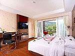 プーケット スパ併設のホテル : ブルー オーシャン リゾート & スパ(Blue Ocean Resort)のブルー オーシャン スイートルームの設備 Room View