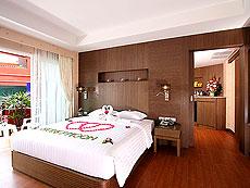プーケット スパ併設のホテル : ブルー オーシャン リゾート & スパ(1)のお部屋「ブルー オーシャン スイート」