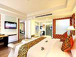 プーケット スパ併設のホテル : ブルー オーシャン リゾート & スパ(Blue Ocean Resort)のプレジデンタル スイートルームの設備 Room View