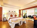 プーケット スパ併設のホテル : ブルー オーシャン リゾート & スパ(Blue Ocean Resort)のプレジデンタル スイートルームの設備 Pool Access