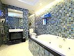 プーケット スパ併設のホテル : ブルー オーシャン リゾート & スパ(Blue Ocean Resort)のプレジデンタル スイートルームの設備 Bath Room