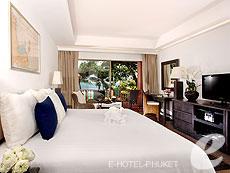プーケット カタビーチのホテル : ボートハウス(1)のお部屋「スーペリア シービュー」