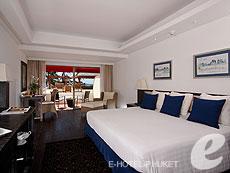 プーケット カタビーチのホテル : ボートハウス(1)のお部屋「デラックス シービュー」
