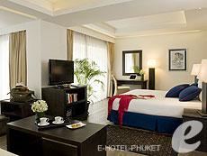 プーケット カタビーチのホテル : ボートハウス(1)のお部屋「ファミリー シービュー スイート」
