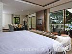 プーケット カタビーチのホテル : ボートハウス(Boathouse)のビーチフロント スイートルームの設備 Bedroom