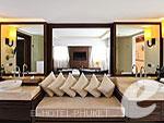 プーケット カタビーチのホテル : ボートハウス(Boathouse)のハイダウェイ シービュー スイートルームの設備 Bath Room