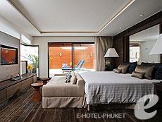 プーケット カタビーチのホテル : ボートハウス(1)のお部屋「ハイダウェイ シービュー スイート」