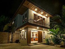 サムイ島 レンタルヴィラのホテル : ボー クン ヴィラ(1)のお部屋「2ベッドルーム」