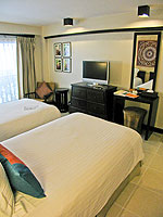 プーケット パトンビーチのホテル : ブラサリ プーケット(Burasari Phuket)のプレミアルームの設備 Bedroom