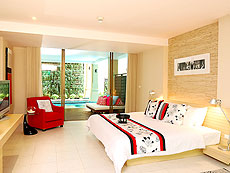 プーケット パトンビーチのホテル : ブラサリ プーケット(1)のお部屋「ムードコレクション グラム スプラッシュ」