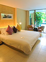 プーケット パトンビーチのホテル : ブラサリ プーケット(Burasari Phuket)のエリート プール アクセスルームの設備 Bedroom