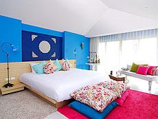 プーケット パトンビーチのホテル : ブラサリ プーケット(1)のお部屋「ムードコレクション ブルーブリーズ」
