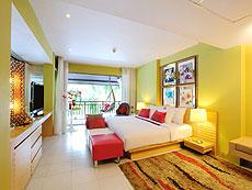 プーケット パトンビーチのホテル : ブラサリ プーケット(1)のお部屋「ムードコレクション サングリア デライト」