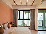 プーケット ビーチフロントのホテル : バイ ザ シー(By The Sea)のデラックスルームの設備 Room View