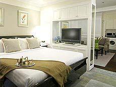 バンコク シーロム周辺のホテル : ケープハウス サービスアパート(Cape House Serviced Apartments)のお部屋「スタジオ スイート」