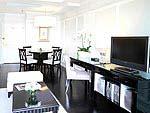 バンコク シーロム周辺のホテル : ケープハウス サービスアパート(Cape House Serviced Apartments)の1ベットルームルームの設備 Room View
