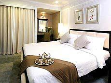 バンコク シーロム周辺のホテル : ケープハウス サービスアパート(Cape House Serviced Apartments)のお部屋「1ベットルーム」