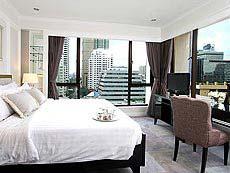 バンコク シーロム周辺のホテル : ケープハウス サービスアパート(Cape House Serviced Apartments)のお部屋「2ベッドルーム」