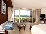 プーケット ファミリー&グループのホテル : ケープ パンワ ホテル(Cape Panwa Hotel)のジュニア スイートルームの設備 Room View
