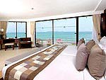 プーケット スパ併設のホテル : ケープ パンワ ホテル(Cape Panwa Hotel)のケープ シグネチャールームの設備 Bedroom