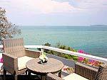 プーケット ファミリー&グループのホテル : ケープ パンワ ホテル(Cape Panwa Hotel)のケープ シグネチャールームの設備 Balcony