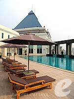 Poolside : Cape Racha Hotel Sriracha, with Spa, Phuket