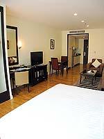 パタヤ シラチャーのホテル : ケープ ラチャ ホテル シラチャー(Cape Racha Hotel Sriracha)のスタジオ スイートルームの設備 Bedroom