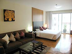 パタヤ シラチャーのホテル : ケープ ラチャ ホテル シラチャー(1)のお部屋「スタジオ スイート」