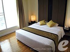 パタヤ シラチャーのホテル : ケープ ラチャ ホテル シラチャー(1)のお部屋「1ベッド ルーム スイート」