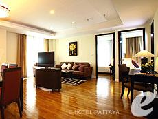 パタヤ シラチャーのホテル : ケープ ラチャ ホテル シラチャー(1)のお部屋「2ベッドルーム スイート」