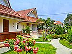 パタヤ ジョムティエンビーチのホテル : カジュアリーナ ジョムティエン ホテル(Casuarina Jomtien Beach Hotel)のバンガロールームの設備 Exterior