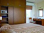 パタヤ ジョムティエンビーチのホテル : カジュアリーナ ジョムティエン ホテル(Casuarina Jomtien Beach Hotel)のジュニア スイートルームの設備 Bedroom